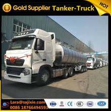 trailer, trailer truck ,three-axles 40 tons 36000 litre fuel transportation tanker trailer for sale