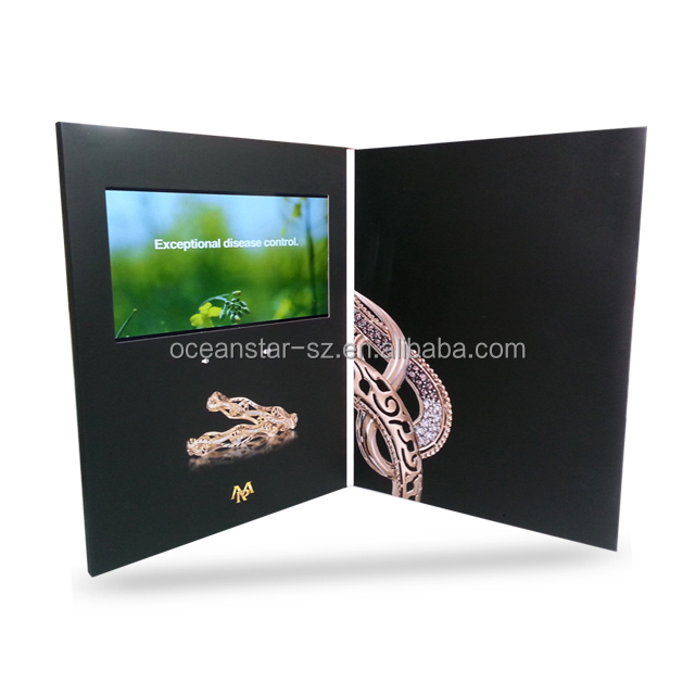 2014 usb paper thin video brochure