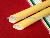 silicone rubber high temperature fiberglass sleeve