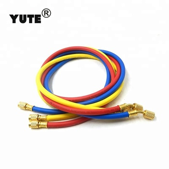 YUTE brand refrigerant tool 3000psi rubber hose for charging r134a