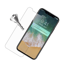 Wholesale Hight Quality 9H Mobile Phone Tempered Glass Screen Protector for iPhone X