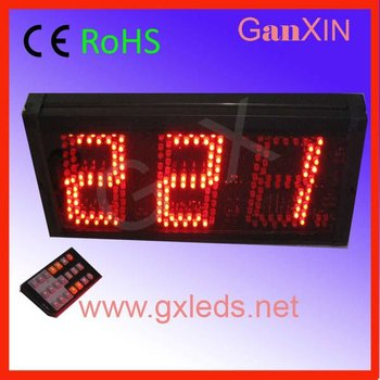 5inch 3digits cheap 7 segment led number display