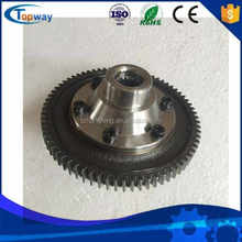 low cost china made yufeng electric tricycle differential forged gear