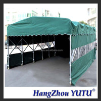 TLP0253 PVC fabric motorcycles and car packing tent
