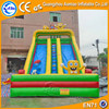 Spongebob inflatable double lane slip slide, giant jumbo water slide inflatable