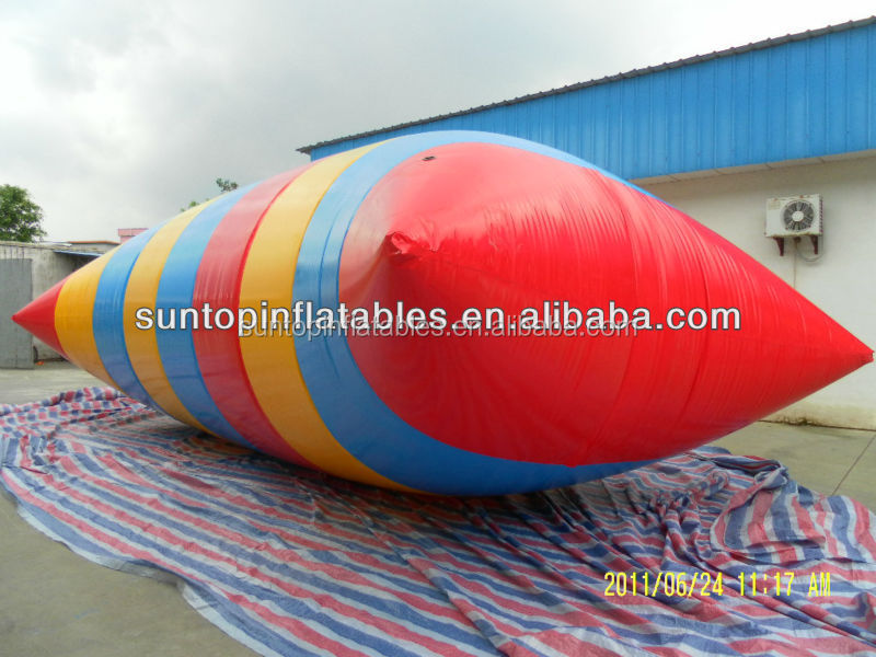 Inflatable Water pillow, water blob with 0.9mm PVC Tarpaulin