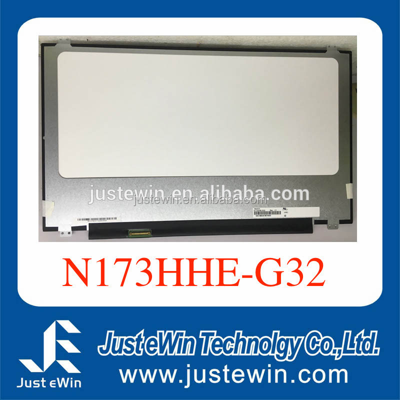 17.3 Inch Normal 40pin 1920*1080 IPS Lcd Panel For -D-e---ll 17R4 Msi GT73 X7V6 led Screen N173HHE-G32