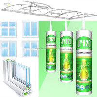 JY920 High Quality Silicone Sealant neutral cure curtain wall silicone sealant, adhesive glue