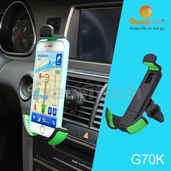 Universal car accessories hot sale 4-6.3in smartphone holder air vent holder