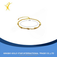 2015 Fashion China Jewelry Wholesale New Design Anklet Gold Anklet Designs Fancy Anklet beautiful leg bracelets
