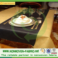 Disposable TNT Table Cloth, Different Colors PP Non woven Table Cloth/1x1m non-woven Table