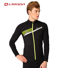 Autumn and Winter windproof fleece cycling jacket for men