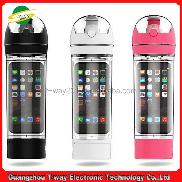 Sports Bottle Phone Case: Good Quality Sport Phone Water Bottle Ibottle With Mobile
