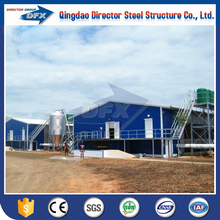 Fast Installation Poultry Shed Broiler Poultry Farm House Design