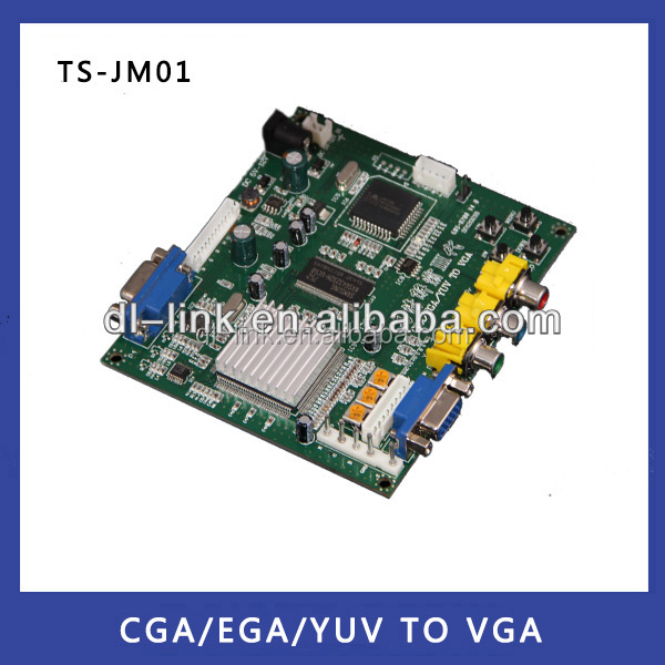 Hot sale!New Products Industrial Monitor Converter CGA/EGA/YUV to VGA Game Converter Board