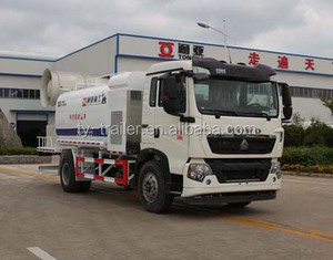 Sinotruck Chassis 4*2 Drive Single/bimotored 8 Ton Water Tank Anti-dust Water Sprinkler Truck