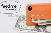 Newest,promotional,fshionable silicone case for iphone4/4s with smile face