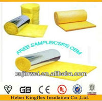 house roof and outside walls thermal insulation fiberglass wool blanket