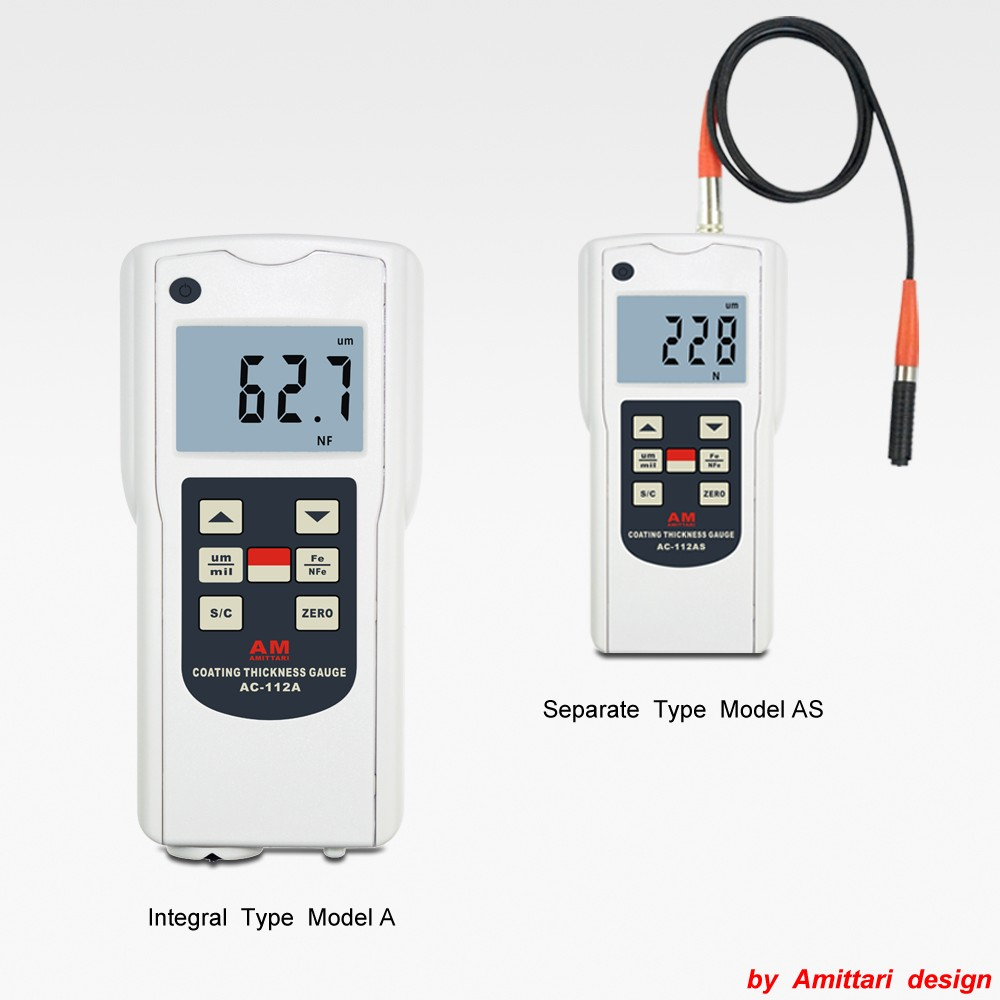 Pocket dry film thickness gauge FN Type test instrument