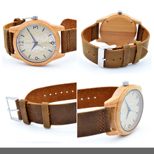 Cheap Price Leather Watch/Promotional Wood Watch Manufacturer