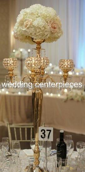(within 30 days can out order )elegant tall gold wedding Candelabra, Candle Holder, Five Arms Metal Candelabra for <strong>decoration</strong>