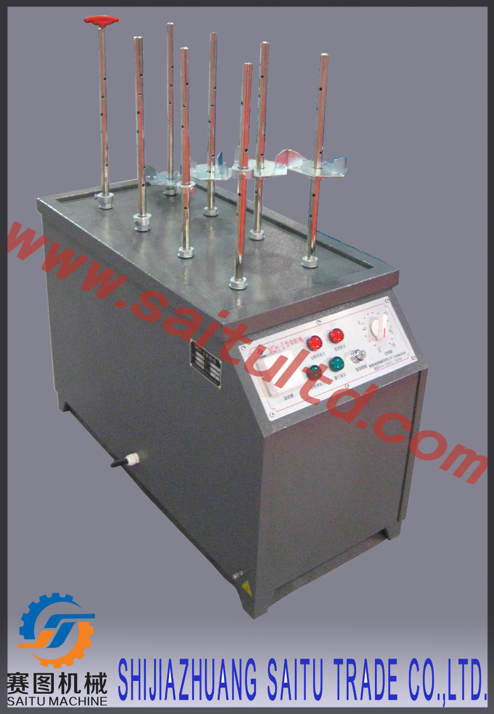 Key Drying machine for ABC/BC powder fire extinguisher cylinder maintenance