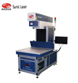 CO2 laser marking machine on jeans denim cloth industry