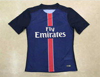 15/16 psg thai quality soccer jersey france football Ligue 1 league shirt cheap wholesale blank hockey football jersey custom