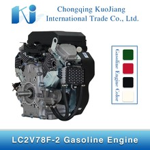 LC2V78F China Electric Start 4 Stroke 2 V-twin Cylinder Gasoline Engine