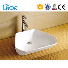 Triangle bathroom ceramic antique hand wash toilet basins in china price