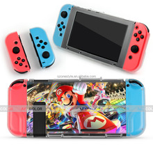 Hot Custom Printed Case For Nintendo Switch Protective Crystal Case Hard PC Plastic Cover Case For Nintendo Switch Console
