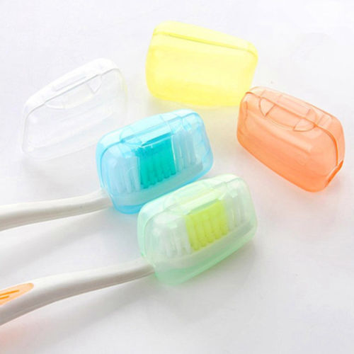 5X  New Travel  Toothbrush Cover Case Cap Hike Protector Cleaner Packing organizer