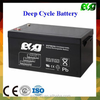 Dry cell battery 12v 250 ah solar battery