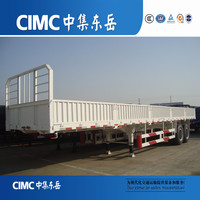 CIMC High Quality Max Payload 40t Tri-axle Sidewall Semi-Trailer