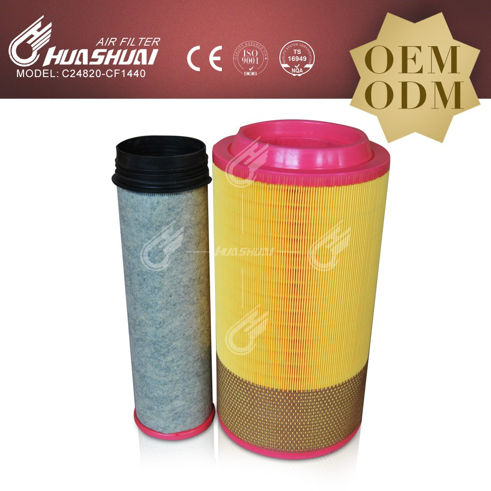 Huahuai 5 micron filters air cleaner Cartridge for Filters and Filtration Systems C24820 P788716 318521 E1007L