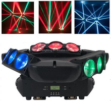New Hot Selling DJ Stage Device 9 eyes12w RGBW 4IN1 Spider Led Moving Head Beam Light