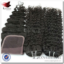 8a Virgin Bohemian Curl Human Hair Weave