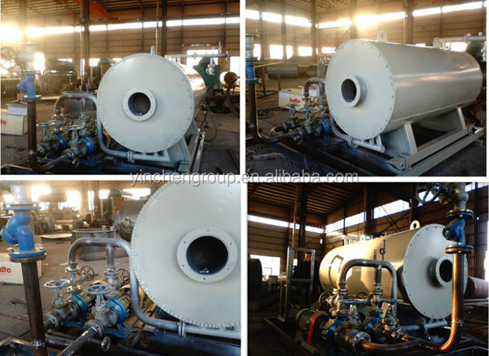 4 Pass design 1.5MW used waste oil heater with 3 layers coil heater with thermocouple
