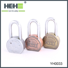 Round Zinc Alloy Padlock with Vane key