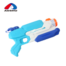 Summer outdoor game suction pressure plastic wholesale water guns with high quality