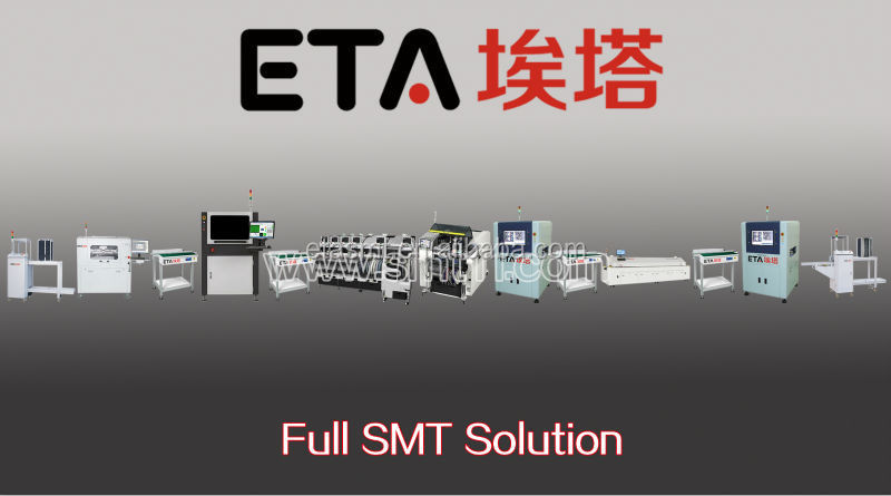 ETA full-auto SMT assembly line for lcd production