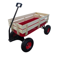 Custom CE Pulling Red Railing Easy Go Kids carts