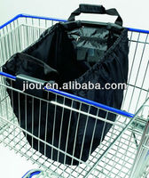 2013 factory new design Large Capacity foldable Eco-friendly material cart shopping bag