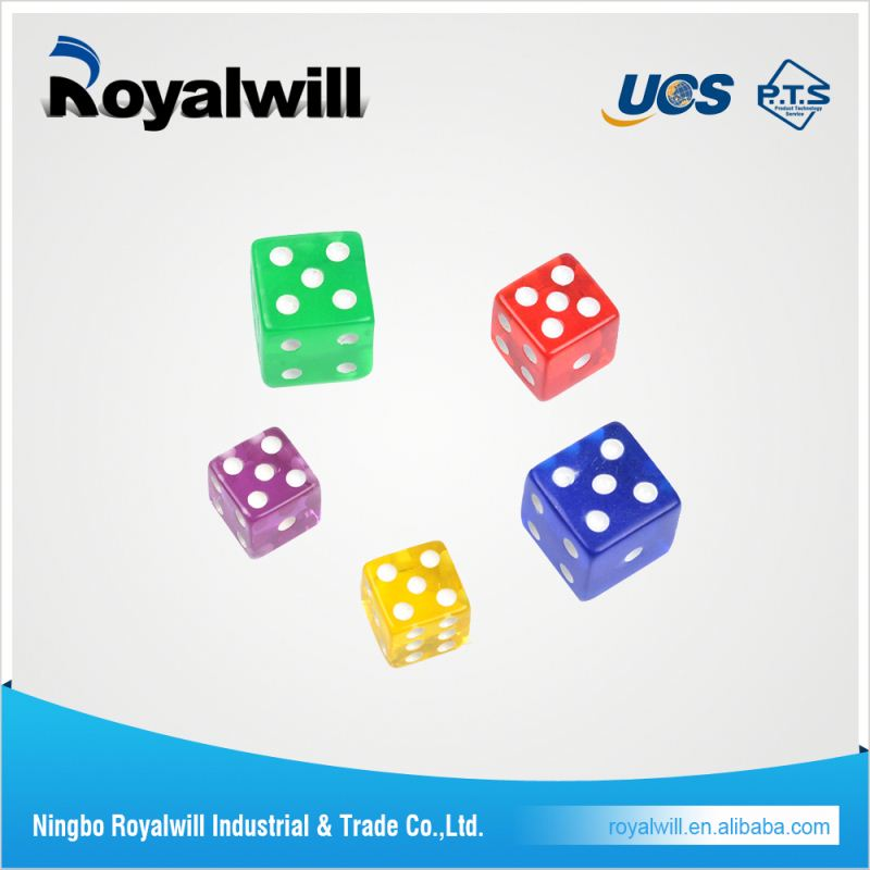 20mm acrylic education dice