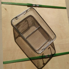 304 stainless steel wire mesh filter basket