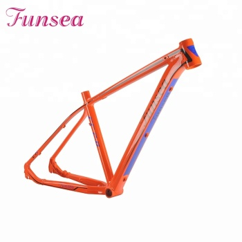Factory price 1.91kg light weight new design high quality MTB alloy bicycle frame mountain bike frame