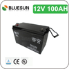 12v 100ah Sealed lead acid China manufacturer with popular dry battery