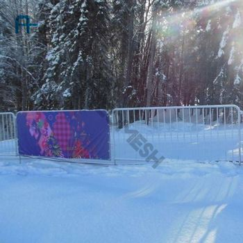Project Russia Winter Games Road Barrier