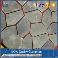 ultra premium quality natural slate flagstone mats cheap paving stone stepping stones