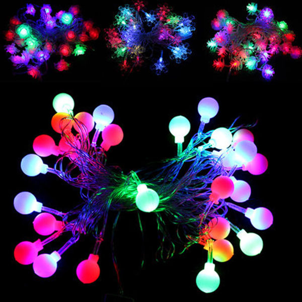 Christmas Tree Pendant Led Decoration String Light - Buy Led Decoration String Light,Led ...
